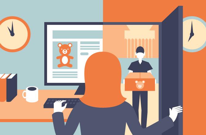 Lợi ích của dịch vụ giao hàng với doanh nghiệp thương mại điện tử