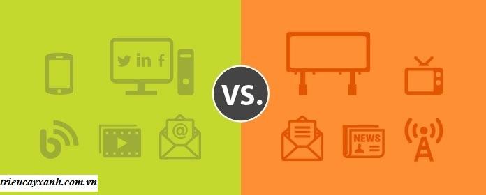 Sự khác biệt giữa quảng cáo kỹ thuật số và truyền thống