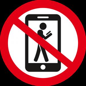 cấm sử dụng điện thoại