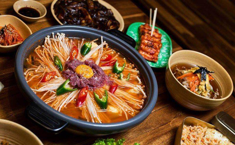 Từ vựng món ăn tiếng Hàn thông dụng
